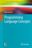 Programming Language Concepts Pdf/ePub eBook