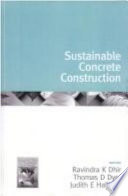 Sustainable Concrete Construction