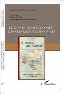 Leçons du temps colonial dans les manuels scolaires [Pdf/ePub] eBook