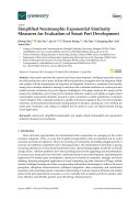 Simplified Neutrosophic Exponential Similarity Measures for Evaluation of Smart Port Development