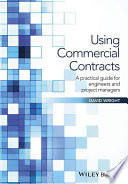 Book Cover: Using Commercial Contracts