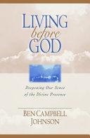 Living Before God