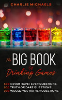 The Big Book of Drinking Games Book PDF