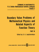 Boundary Value Problems of Mathematical Physics and Related Aspects of Function Theory