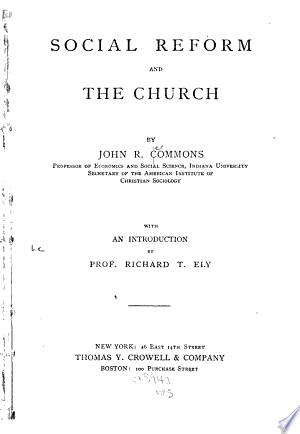 Social+Reform+and+the+Church
