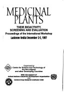 Medicinal Plants Their Bioactivity Screening And Evaluation Book PDF