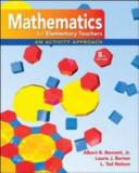 Math for Elementary Teachers  An Activity Approach with Manipulative Kit Mathematics for Elementary Teachers