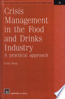 Crisis Management in the Food and Drinks Industry