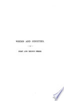 Whims A. Oddities, in Prose A. Verse