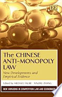 The Chinese Anti Monopoly Law Book PDF