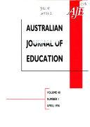 The Australian Journal of Education