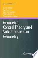 nonlinear geometric control theory - 128×194