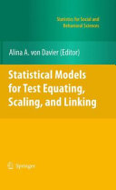 Statistical Models for Test Equating  Scaling  and Linking