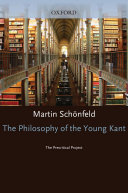 The Philosophy of the Young Kant