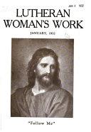 Lutheran Woman s Work