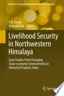 Livelihood Security in Northwestern Himalaya