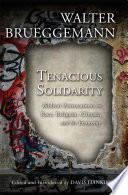 Tenacious Solidarity Book