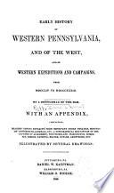 Early History Of Western Pennsylvania