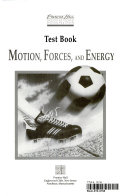 Prentice Hall Science: Motion, forces, and energy