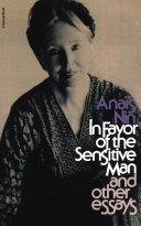 In Favor of the Sensitive Man and Other Essays Pdf/ePub eBook