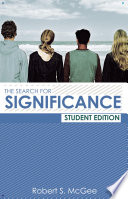The Search for Significance Student Edition Book