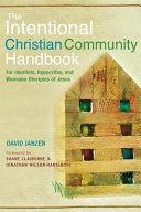 The Intentional Christian Community Handbook