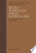 Recent Advances in Animal Nutrition Book