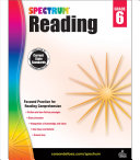 Spectrum Reading Workbook, Grade 6