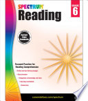 """Spectrum Reading Workbook, Grade 6"" by Spectrum"