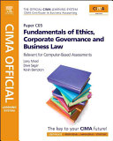 CIMA Official Learning System Fundamentals of Ethics, Corporate Governance and Business Law