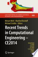 Recent Trends in Computational Engineering   CE2014