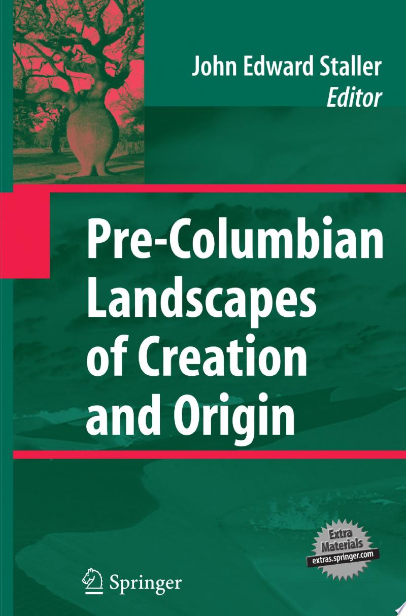 Pre-Columbian Landscapes of Creation and Origin banner backdrop