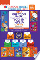 Oswaal CBSE Question Bank, Chapterwise & Topicwise, Solved Papers, Class 12, Economics, Reduced Syllabus (For 2021 Exam)