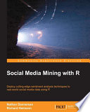 Social Media Mining with R Book