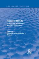 Pdf Jacques Derrida (Routledge Revivals) Telecharger