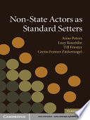 Non State Actors As Standard Setters