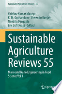 Sustainable Agriculture Reviews 55