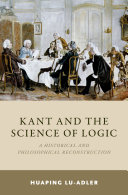 Kant and the Science of Logic