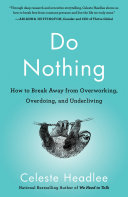 Do Nothing [Pdf/ePub] eBook
