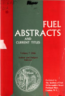 Fuel Abstracts and Current Titles