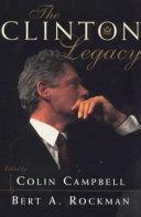 The Clinton Legacy Book PDF
