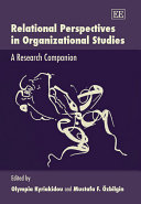 Relational Perspectives in Organizational Studies