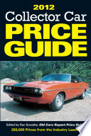 2012 Collector Car Price Guide