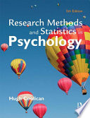 Research Methods and Statistics in Psychology  Fifth Edition
