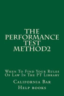 The Performance Test Method2