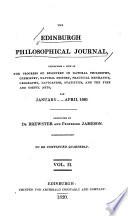 The Edinburgh Philosophical Journal