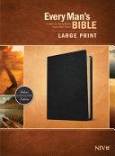 Every Man S Bible Niv Large Print Genuine Leather Black  Book PDF