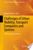Challenges Of Urban Mobility Transport Companies And Systems Book PDF
