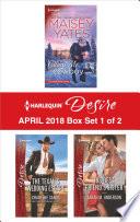 Harlequin Desire April 2018 - Box Set 1 of 2