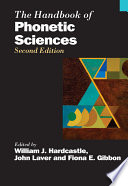 The Handbook of Phonetic Sciences Book